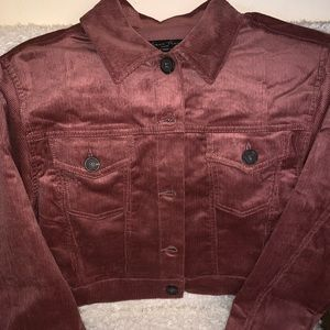 Forever 21 Jackets & Coats - BRAND NEW F21 Corduroy Jacket LARGE,MAUVE